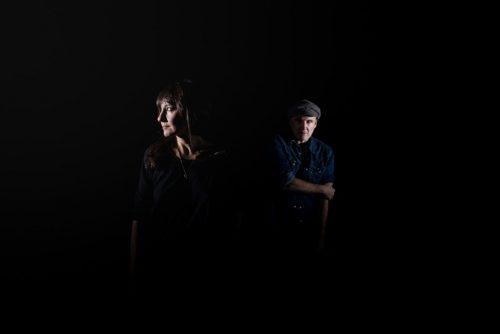 Retrato Eva Amaral y Juan Aguirre en Teatro de las Esquinas
