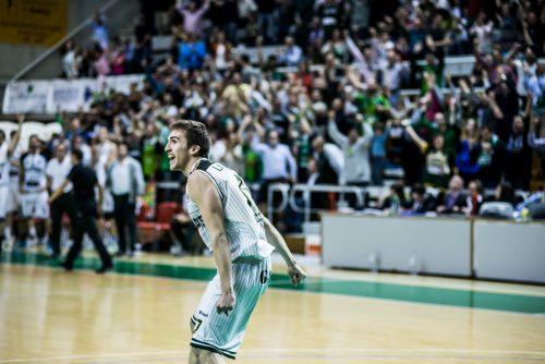 Peñas Huesca Jorge Lafuente Baloncesto