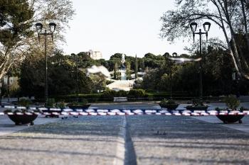 Zaragoza durante Coronavirus, Parque Grande
