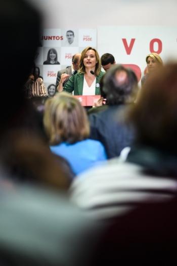 Pilar-Alegría-Vaorando-los-reusltados-de-las-elecciones-2019