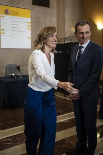 Pilar Alegría (Delegación del Gobierno en Aragón)