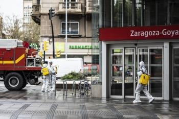 Coronavirus Zaragoza UME