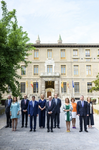 Presidente-del-Gobierno-de-Aragón-y-sus-consejeros-en-2019